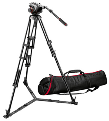 Manfrotto 504HD (546GBK 삼각대포함)