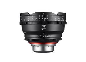 삼양 XEEN CINEMA Lens 14mm T3.1(EF) 4K Support