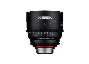 삼양 XEEN CINEMA Lens 24mm T1.5(EF) 4K Support