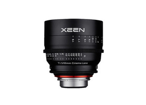 삼양 XEEN CINEMA Lens 50mm T1.5(EF) 4K Support